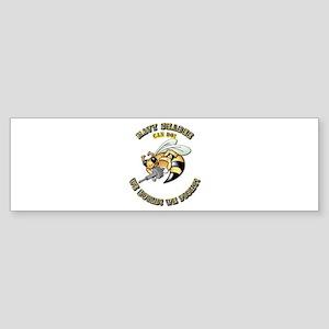 New Navy SeaBee Sticker (Bumper)