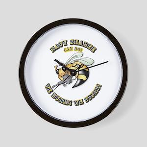 New Navy SeaBee Wall Clock
