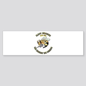 New Navy SeaBee Sticker (Bumper)