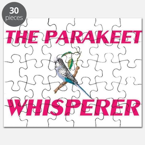 The Parakeet Whisperer Puzzle