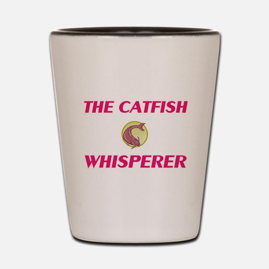 The Catfish Whisperer Shot Glass