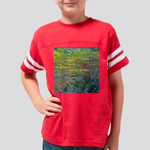 Water Lilies 1904 by Claude M Youth Football Shirt