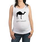 got camel? Maternity Tank Top