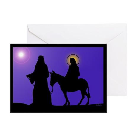Mary & Joseph Greeting Cards (Pk of 10)