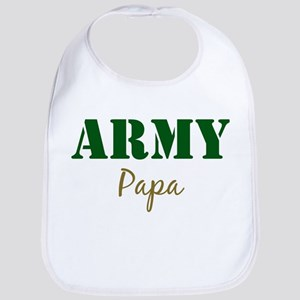 Army Papa Bib
