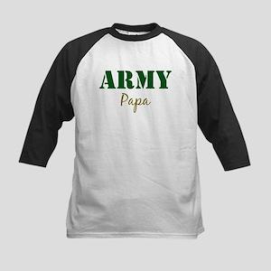 Army Papa Kids Baseball Jersey