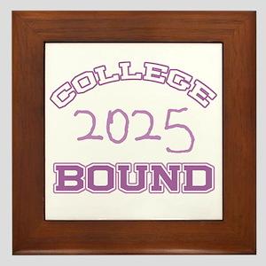 College Bound 2025 Framed Tile