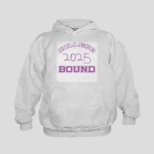 College Bound 2025 Kids Hoodie