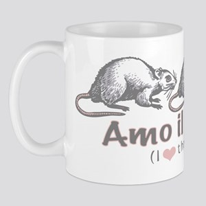 Love the Rat Italian Mug
