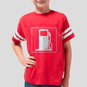 dieselwhite_blk Youth Football Shirt