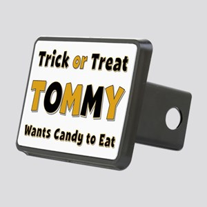 Tommy Trick or Treat Rectangular Hitch Cover