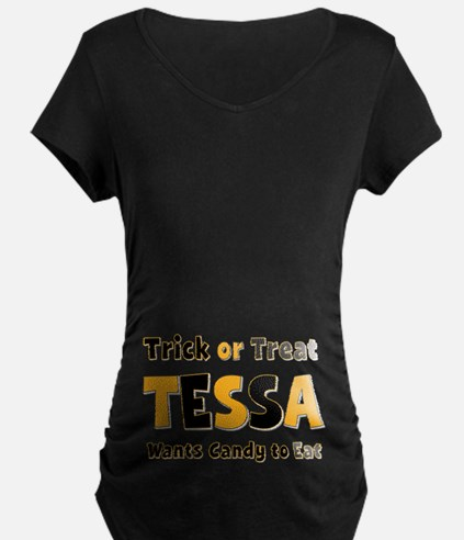Tessa Trick or Treat T-Shirt