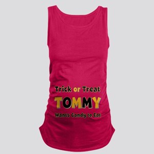 Tommy Trick or Treat Maternity Tank Top