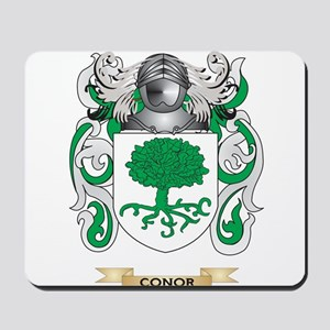 Conor Coat of Arms Mousepad