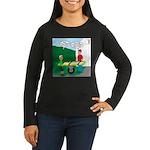 Jamboree Stretche Women's Long Sleeve Dark T-Shirt