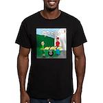 Jamboree Stretcher Men's Fitted T-Shirt (dark)