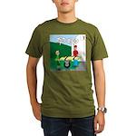 Jamboree Stretcher Organic Men's T-Shirt (dark)