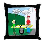Jamboree Stretcher Throw Pillow