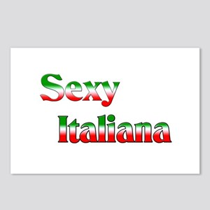Sexy Italiana Postcards (Package of 8)