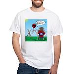 Weather Balloon Launch White T-Shirt