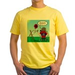 Weather Balloon Launch Yellow T-Shirt