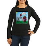 Weather Balloon L Women's Long Sleeve Dark T-Shirt