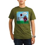 Weather Balloon Launc Organic Men's T-Shirt (dark)