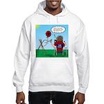 Weather Balloon Launch Hooded Sweatshirt