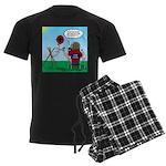 Weather Balloon Launch Men's Dark Pajamas
