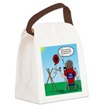 Weather Balloon Launch Canvas Lunch Bag