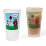 Weather Balloon Launch Drinking Glass