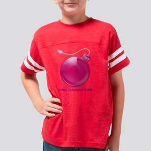 Hot Pink Youth Football Shirt