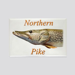 Northern Pike Rectangle Magnet