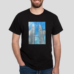 Malaysia Tower Dark T-Shirt