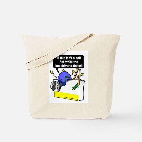 Jacked Up Hockey Tote Bag