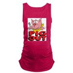 Pig Out Maternity Tank Top