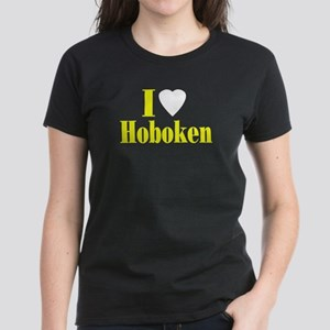 I Love Hoboken Women's Dark T-Shirt