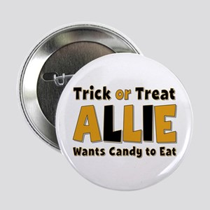 Allie Trick or Treat Button