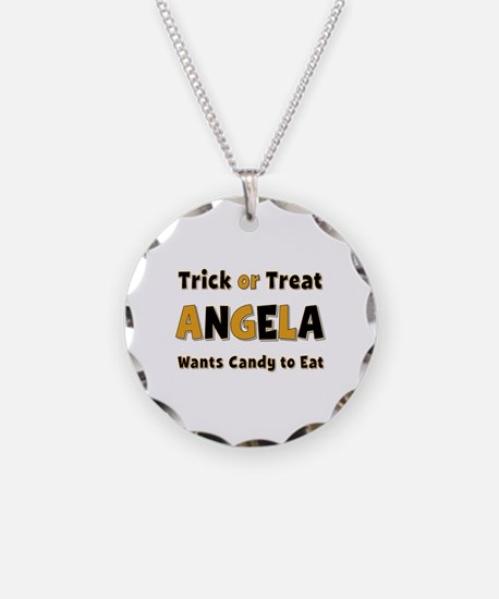 Angela Trick or Treat Necklace