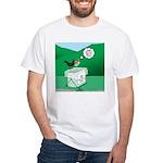 Recycling Bird White T-Shirt