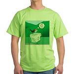 Recycling Bird Green T-Shirt