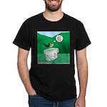 Recycling Bird Dark T-Shirt
