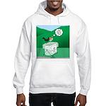 Recycling Bird Hooded Sweatshirt