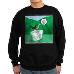Recycling Bird Sweatshirt (dark)