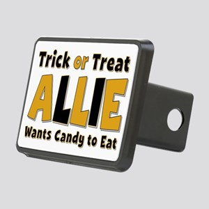 Allie Trick or Treat Rectangular Hitch Cover