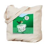 Recycling Bird Tote Bag