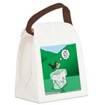 Recycling Bird Canvas Lunch Bag