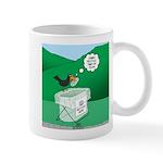 Recycling Bird 11 oz Ceramic Mug