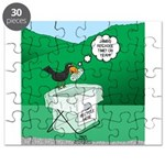 Recycling Bird Puzzle