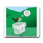 Recycling Bird Mousepad